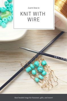 Learn to Knit with W