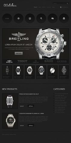 Watches Online Jigoshop Themes by Cowboy
