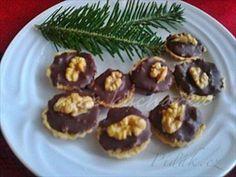 Zobrazit detail - Recept - Košíčky s ořechovou nádivkou