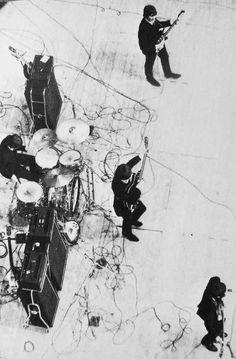 The Beatles Paris, Palais des Sports, 1965