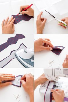 Make Your Dad a Bow Tie in Under 30 Minutes! via Brit + Co.