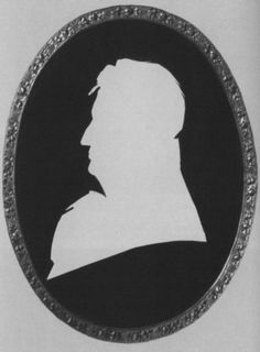Василий Львович Пушкин. Неизвестный художник. 1800-е гг. Силуэт
