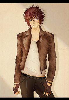 Senri Shiki from Vampire Knight