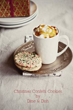 Christmas Confetti Cookies Recipe   Food Bloggers Cookie Swap