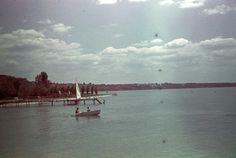 Lake Balaton in the 1940's
