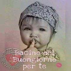 Bacino del buongiorno per te. Italian Life, Good Morning, Crochet Hats, Cristiani, Smiley, Mornings, Plank, Meme, Portraits