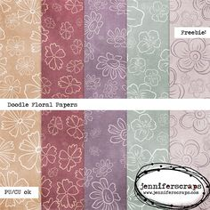 """Wednesday's Guest Freebies ~ Jennifer Scraps ✿ Join 6,800 others. Follow the Free Digital Scrapbook board for daily freebies. Visit GrannyEnchanted.Com for thousands of digital scrapbook freebies. ✿ """"Free Digital Scrapbook Board"""" URL: https://www.pinterest.com/grannyenchanted/free-digital-scrapbook/"""
