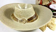 Vintage Retro Ceramic Cowboy Hat  Sombrero Chip and Dip
