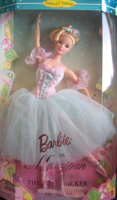 Barbie as Marzipan in the Nutcracker Barbie http://www.amazon.com/dp/B000UY0JRK/ref=cm_sw_r_pi_dp_bV0Jub0RNCYHW