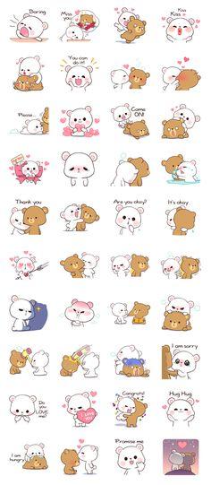 Cute Girl Wallpaper, Bear Wallpaper, Kawaii Wallpaper, Cute Kawaii Animals, Kawaii Cat, Kawaii Anime, Dolly Parton, Diy Gift For Bff, Cute Bear Drawings