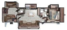 Roamer RT328BHS Floorplan
