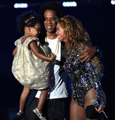 Blue Nearly Steals the Show During Beyoncé's Big VMA Performance