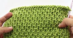 The Aptly-Named Tire Tread Stitch Has Quite The Unique Texture!