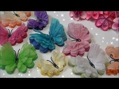 ideas origami flowers easy paper roses tutorial for 2019 Origami Rose, Origami Butterfly, Origami Flowers, Diy Flowers, Butterfly Video, Pot Mason Diy, Mason Jar Crafts, Tissue Paper Flowers, Paper Butterflies