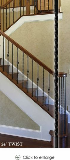 Double Basket Baluster L Wrought Iron Balusters L Iron Railings L Stair  Parts L Stair Hardware   Twist U0026 Basket Designs | Home   Home Decor |  Pinterest ...