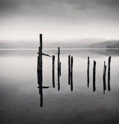 Old Pier, Toya Lake, Hokkaido, Japan. 2002