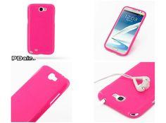 PDair High Gloss Soft Plastic Case for Samsung Galaxy Note II GT-N7100 (Petal Pink)