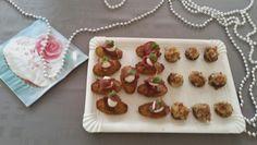 Madeleine pesto magret mozzarella & champignons farcis bacon fromage