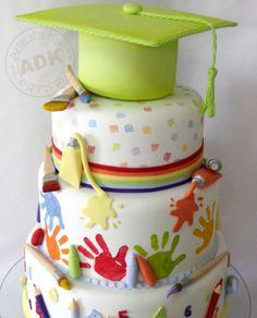 Kid's Graduation Cake