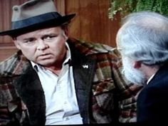 Archie Bunker on Christian vs Catholic 70s Tv Shows, Movies And Tv Shows, Family Tv Series, Norman Lear, Archie Bunker, Comedy Clips, Color Television, Forgetting The Past, All In The Family