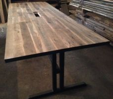 Reclaimed Wood Conference Table