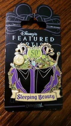MALEFICENT 50TH ANNIVERSARY FEATURED ARTIST LE LIMITED EDITION 1000 DISNEYLAND
