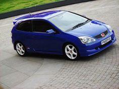 Ep2 vivid blue with white penta alloys