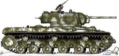 Engines of the Red Army in WW2 - KV-1 Model 1941 Heavy Tank w/Cast Turret