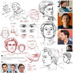 Anatomy Drawing, Guy Drawing, Anatomy Art, Character Drawing, Character Design, Drawing Reference Poses, Anatomy Reference, Marvel Drawings, Marvel Art
