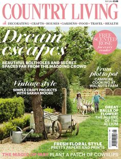 Country Living May 2014 cover countryliving.co.uk