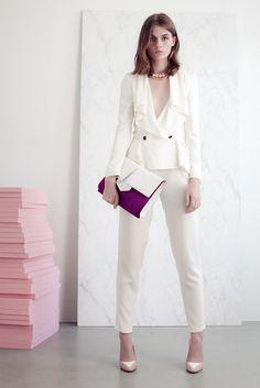 Vionnet Resort 2013 Fashion Show - Lara Mullen