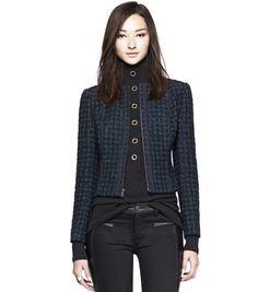 Sloane Jacket by Tory Burch, $425