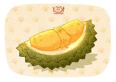 Durian oiishii _(:9_ L)_https://www.facebook.com/tabeneko