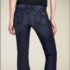Joes Jeans Muse 25W 34 inch inseam. Great condition. Minimal pilling on inside of waistband but cuffs are in great condition. Color is Thompson. Classy and flattering! Joe's Jeans Jeans Flare & Wide Leg