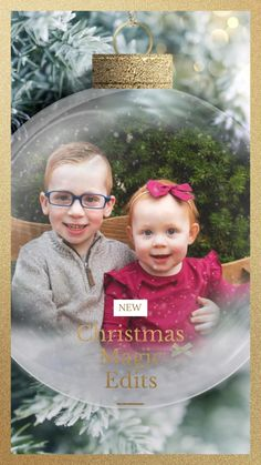 Bring a little Christmas magic to your favorite photos and turn them into cherished keepsakes. You provide the photos, I provide the magic. Purchase includes one photo edit of your choice. Buy more, save more pricing.