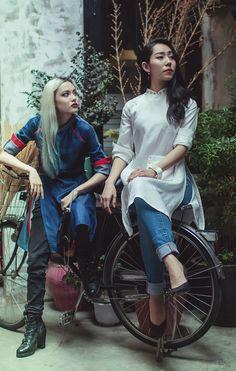 Dieu Anh's 'Ao Dai Tet' Lookbook                                                                                                                                                     More