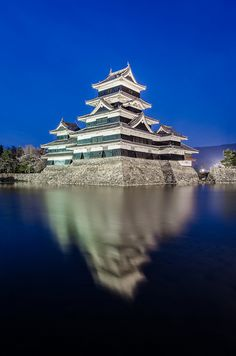 The Bluest Hour in Matsumoto by lestaylorphoto