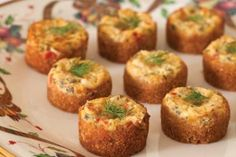 Lobster quiches ~ lobster quiches are the best kind
