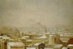 Gustave CAILLEBOTTE «Paris sous la neige»
