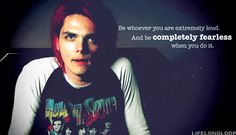 A Quote From Gerard Way