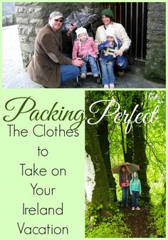 Choosing the best Ireland vacation clothing can give even the most experienced packer a moment's pause. The clothes you need to pack for an Ireland vacation.