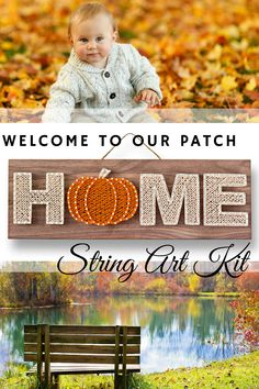 Easy Fall Crafts, Holiday Crafts For Kids, Easy Craft Projects, Craft Kits, Diy Kits, Fall Diy, Craft Ideas, Diy Crafts For Adults, Diy Crafts To Sell
