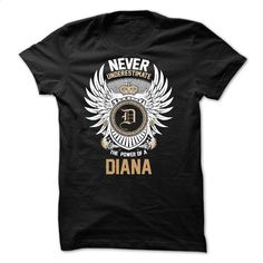 Never Underestimate The Power of a DIANA T Shirt, Hoodie, Sweatshirts - custom t shirt #teeshirt #fashion