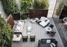 "Minotti Outdoor Collection | Alison ""Dark Brown"" Iroko sofa, Aston ""Cord"" Outdoor loveseat, Rivera sofa, Rodolfo Dordoni and Roberto Minotti Design"