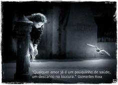 João Guimarães Rosa, in Grande Sertão: veredas