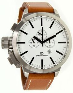 Danish Design IQ12Q889 Brown Chronograph Mens Watch