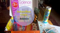 Ready For Your SchoolBox Club Subscription? Everything that came in this month's box! Look at all that cool stuff to get you loving school again!