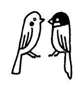 Parakeet / Parrot / Bird Rubber Stamp by SweetSuppliesStore, $4.20
