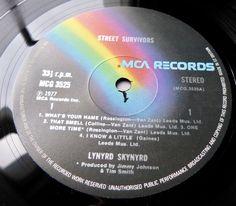 LYNYRD SKYNYRD Street Survivors 1977 UK MCA 1st PRESS w/RED INNER - MINT