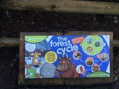 Trail Gruffalo Trail, Wood, Frame, Garden, Home Decor, Picture Frame, Garten, Woodwind Instrument, Timber Wood